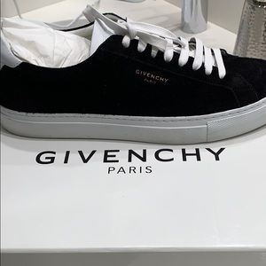 Givenchy black suede sneaker